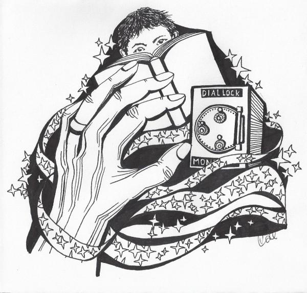 ghost story illustration